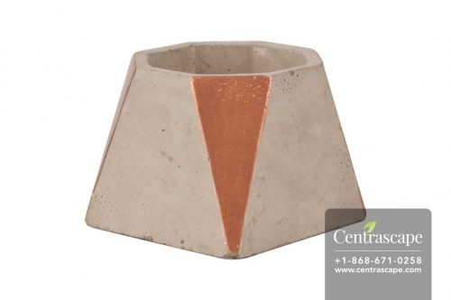 Centrascape - Pots - Copper Smooth Cement Planter