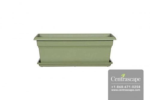 Centrascape - Pots - Rectangular Flower Box with tray