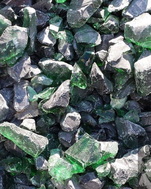 Centrascape - Decorative Green Glass