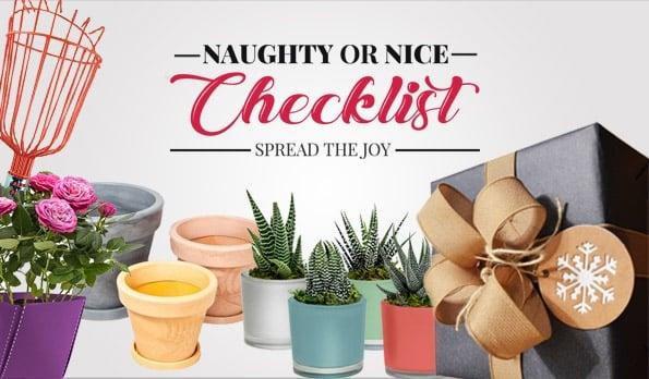 Naughty or Nice Checklist