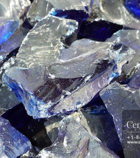 Centrascape - Decorative Dark Blue Glass