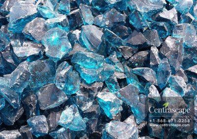 Centrascape - Decorative Light Blue Glass