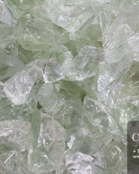 Centrascape - Decorative White Glass