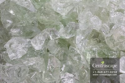 Centrascape - Decorative White Glass