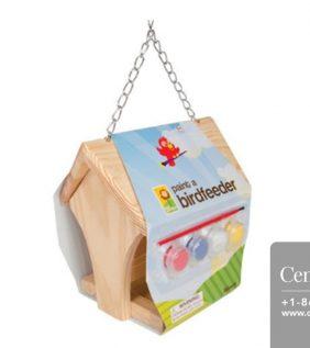 Centrascape - Kids - Kids Paintable Birdfeeder