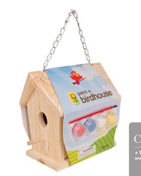 Centrascape - tools - Kids Paintable Birdhouse