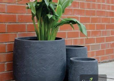 Centrascape - Pots - Atlas Round Patio Planter 1