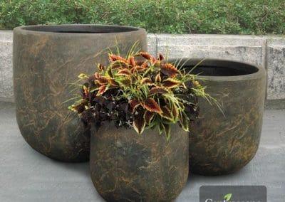 Centrascape - Pots - Atlas Round Patio Planter 3