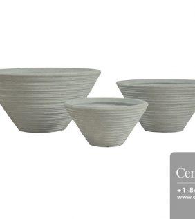 Centrascape - Pots - Bowl Canna