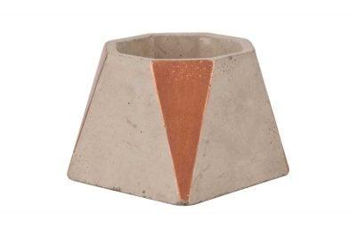 Centrascape - Pots - Copper Smooth Cement Planter