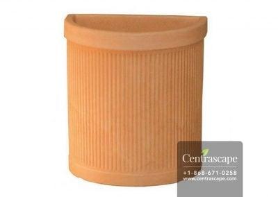 Centrascape - Pots - Free Standing Semicircular Flower Pot