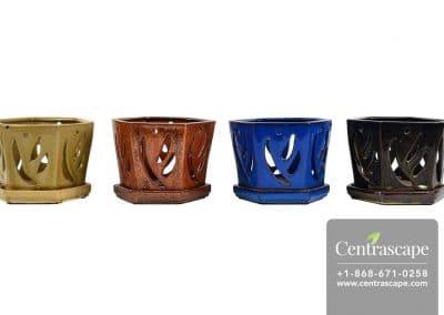 Centrascape - Pots - Hexagon Orchid Pot