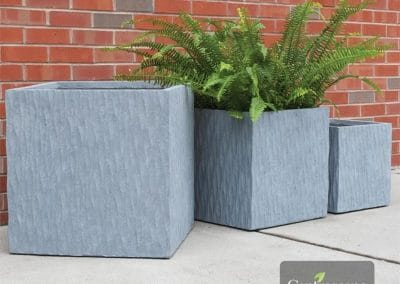 Centrascape - Pots - Origin Helix Square Patio Planter 1