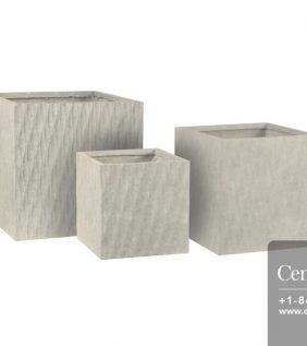 Centrascape - Pots - Origin Helix Square Patio Planter