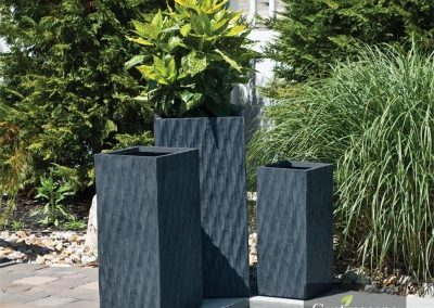 Centrascape - Pots - Origin Helix Tall Square Planter 1