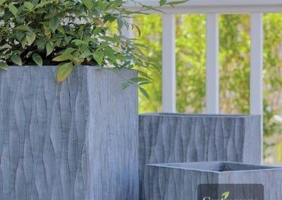 Centrascape - Pots - Origin Helix Tall Square Planter 2