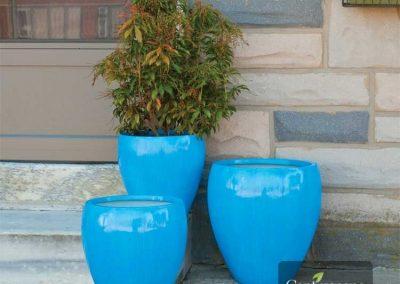 Centrascape - Pots - Round Contemporary Planter