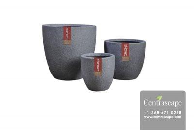 Centrascape - Pots - Round Terrazzo