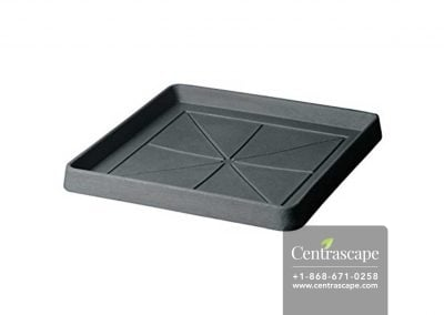 Centrascape - Pots - Square Plastic Garden Pot Tray