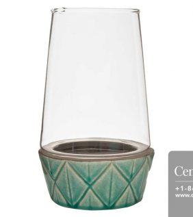 Centrascape - Pots - Teal Ceramic Dish